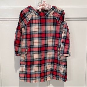 GAP Plaid Flannel Dress!